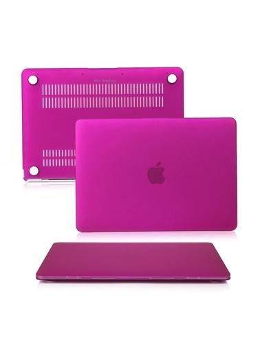 """Mcstorey MacBook Pro A1278 13.3"""" Kılıf Kapak Koruyucu Ruberized Hard Incase Mat Mor"""